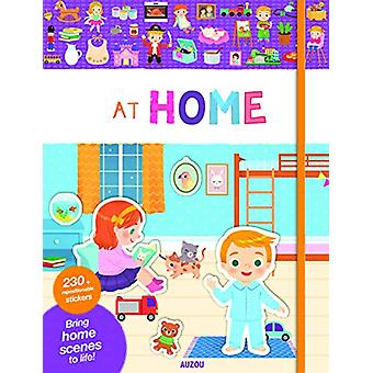 My Very First Stickers - At Home by Yi-Hsuan Wu - 9782733871836 Book