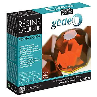 Pebeo Gedeo color resina (ámbar) de 150ml