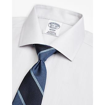 Brooks Brothers Men's Silk Tie With Wide Stripe