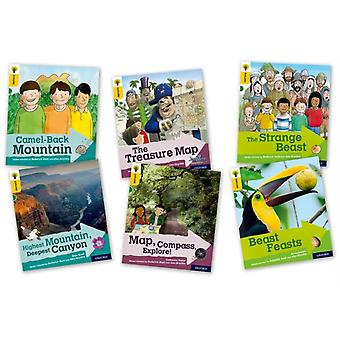 Oxford Reading Tree Explore with Biff Chip and Kipper Oxford Level 5 Mixed Pack of 6 by Hunt & RoderickScott & KateShipton & PaulBaker & CatherineGaneri & Anita
