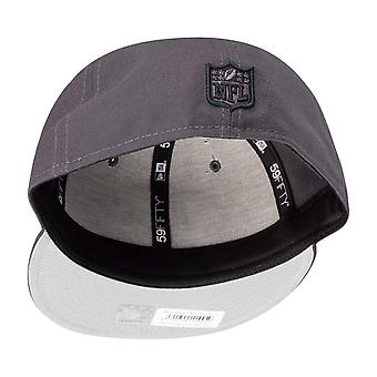 New Era 59Fifty Fitted Cap - GRAPHITE San Francisco 49ers