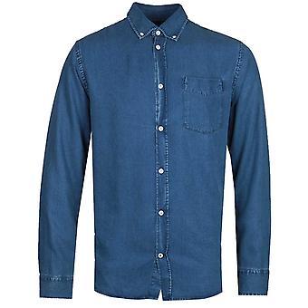 NN07 Levon 5767 Long Sleeve Shirt - Blue Wash