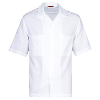 Barena Camicia Solana Stoco Hvit Skjorte