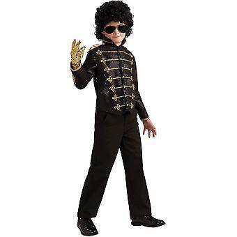 Black Military Michael Jackson Child Costume