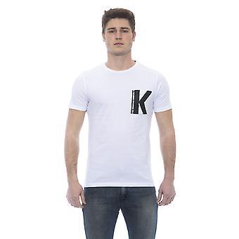 Karl Lagerfeld Men's White Short Sleeve T-shirt