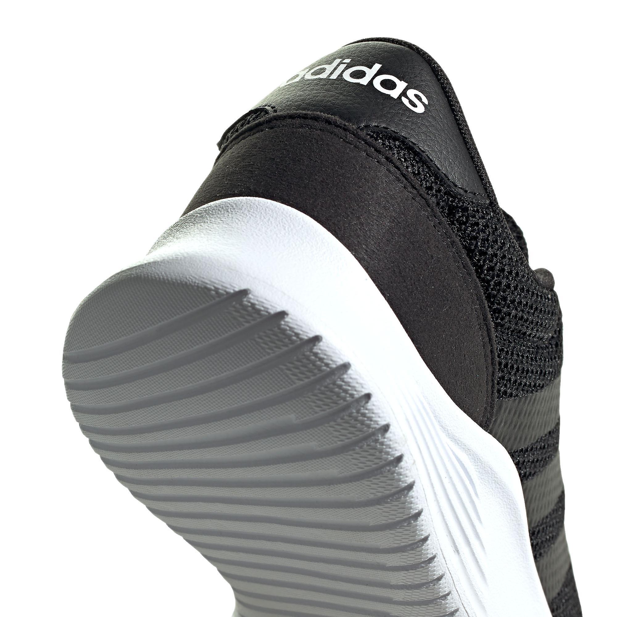 adidas Lite Racer 2.0 Mens Sports Fashion Trainer Shoe Black/White dLbrZk