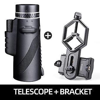 Powerful monocular long range 1000m telescope for smartphone 40x60 military spyglass zoom