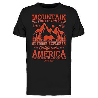Mountain Outdoor Explorer Tee Men's -Image door Shutterstock