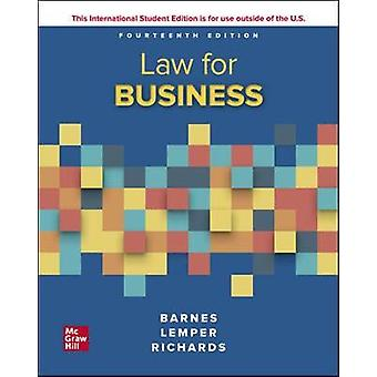 ISE Law for Business by A. James Barnes - 9781260570960 Book