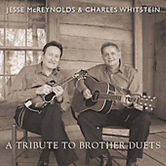 McReynolds/Whitstein - Tribute to Brother Duets [CD] USA import