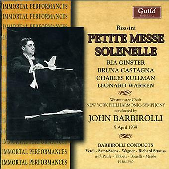 John Barbirolli - Rossini: Petite Messe Solenelle [CD] USA import