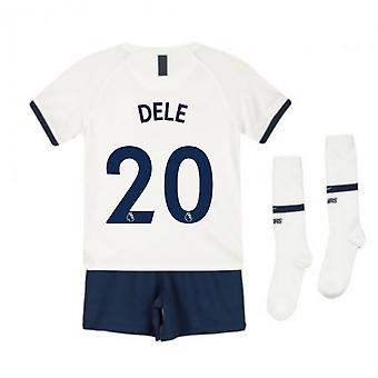 2019-2020 Tottenham Home Nike Little Boys Mini Kit (DELE 20)