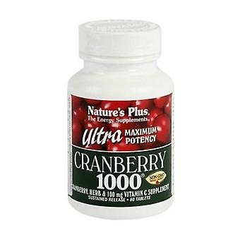 Ultra Cranberry 1000 60 tablets of 1000mg