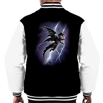 Veste Varsity Alchemy Lightning Dragon Men-apos;s