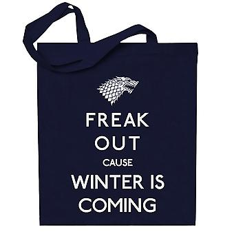 Freaking Winter Game Of Thrones Totebag