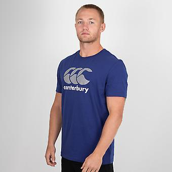 Canterbury stor logo T shirt Herr