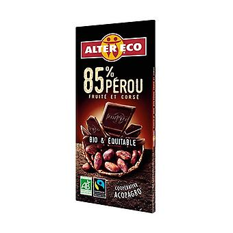 Dark chocolate Peru 85% organic 100 g