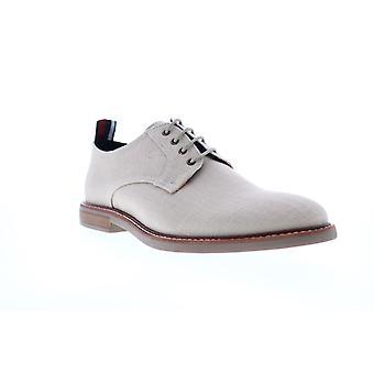 Ben Sherman Birk Plain Toe  Mens Beige Tan Canvas Low Top Oxfords Shoes