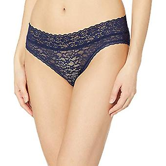 Essentials Kvinder's 4-Pack Lace Stretch Bikini Trusse, Blå & Pink, S