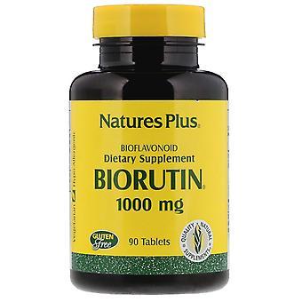 Nature-apos;s Plus, Biorutine, 1000 mg, 90 comprimés