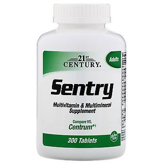 21ème siècle, Sentry, Multivitamine & Supplément multiminéral, 300 comprimés