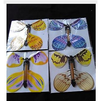 Magic Flying Butterfly met kaart speelgoed, lege handen, Bruiloft Magic Tricks Rekwisieten
