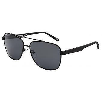 Sunglasses Unisex Aviator polarized matt black (P75776)