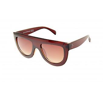 Gafas de sol mujeres rectangulares marrón (20-010)