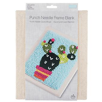 20x25cm Punch Needle Embroidery Canvas Frame Blank