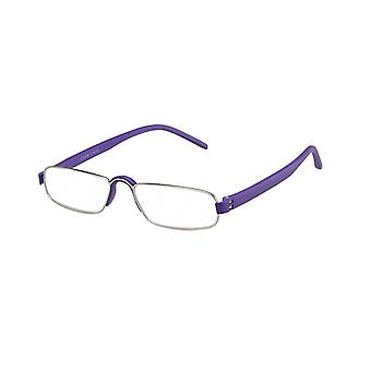 Reading glasses Unisex Le-0163E Notary Violet Thickness +2,00