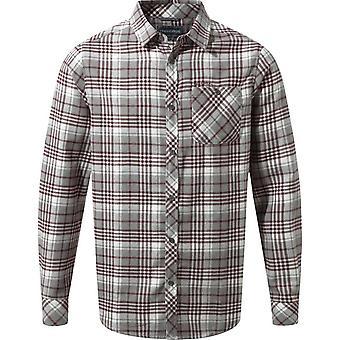 Craghoppers Men's Bjorn Long Sleeve Shirt Grijs