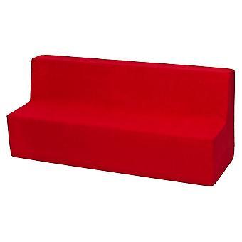 Muebles de sorfa para niños espuma roja