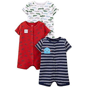 Jednoduché radosti carter's Baby Boys' 3-Pack Snap-up Rompers
