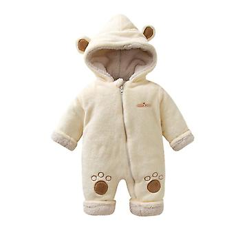 Treasure Unisex Baby Plush Bathrobe, Chevron
