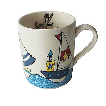 Gallery Thea Mug, Boats and Sea