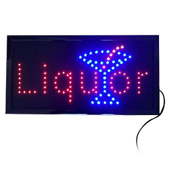 Liquor Neon Lights Led Animated Customers Attractive Sign