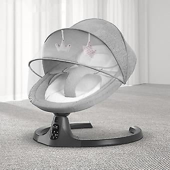 Nyfödda Baby Sleeping Swing Bouncer, gungande lugnande Electric Cradle stol