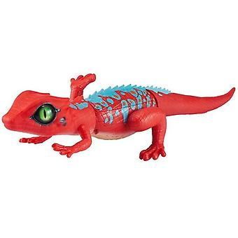 Tobar Robotic Alive Lizard Toy, Red and Blue