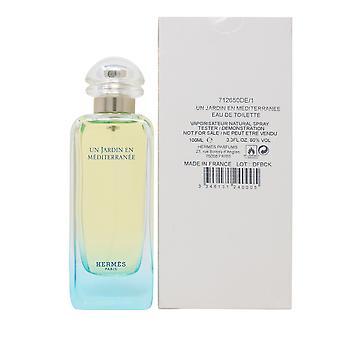 Un Jardin En Mediterranee par Hermes Edt 3.3oz/100ml Spray New In White Box