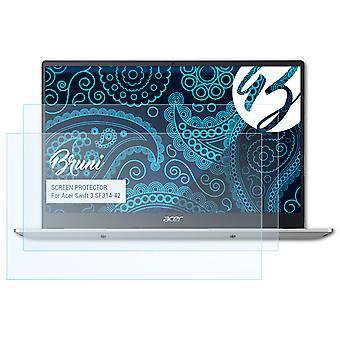 ברוני 2x מגן מסך תואם Acer סוויפט 3 SF314-42 סרט מגן