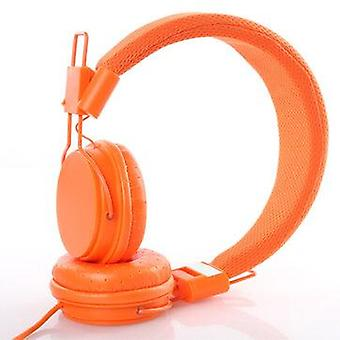 EP05 Portable Folding Colorful Wired Headset Sports Running Mp3 Stereo Headphone