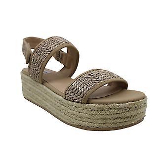 ستيف مادن المرأة & ق الأحذية الملحمة ينب إصبع القدم عارضة منصة الصنادل