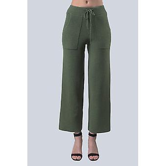 Kaki Sam-rone Women's Pants