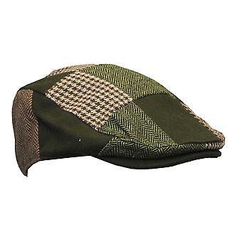 Walker e Hawkes - Uni -Sex Wool Patch Flat Cap