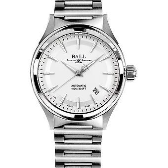 Ball NM2098C-S4J-SL Fireman Victory Wristwatch Silver Tone