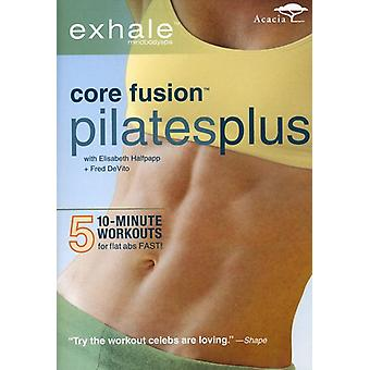 Exhale - Core Fusion Pilates Plus [DVD] Stati Uniti importare