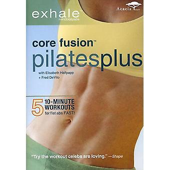 Exhale - Core Fusion Pilates Plus [DVD] USA import