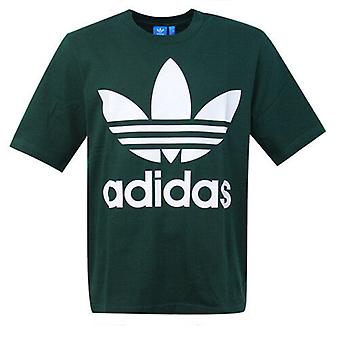 Adidas Originals Forest Green AC Boxy Short Sleeve Mens Tee T-Shirt CD9303 RW61