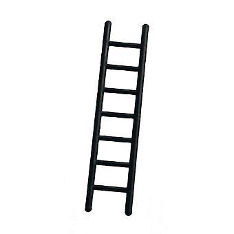 Dolls House Black Straight Step Ladder 120mm Miniature Garden Accessory