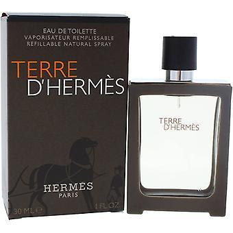 Hermes Terre d'Hermes Eau de Toilette Refillable for Men 30 ml